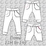 Domi sweat pants_