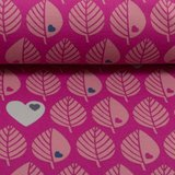 Softshell blatter - roze - coupon_