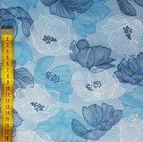Avalana blauwe bloemen_