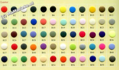 Prym color snaps / Kam snaps maat 20, T5