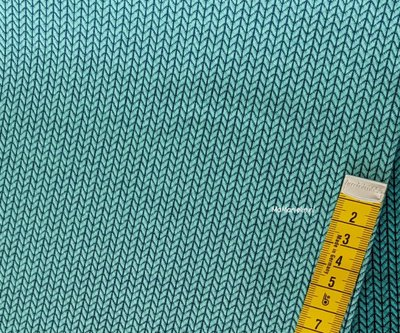 Knit knit jaquard tricot - verdino/atlantic