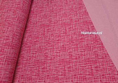 Criss cross fuchsia roze