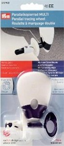 Radeerwieltje met dubbele markering ergonomisch Prym