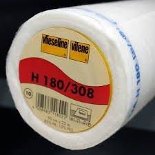 Vlieseline H180 wit, per 50cm