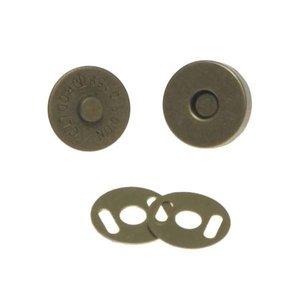 Magneetsluiting bronskleurig