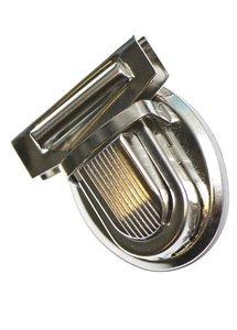 Metalen klik tassluiting zilverkleurig