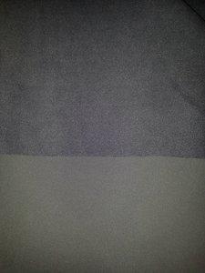 Nanotex, softshell, uni donker grijs, per 10cm