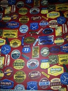 Red vintage Garage