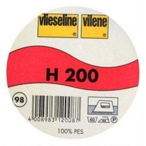Vlieseline H200 wit, per 50cm