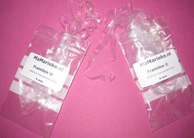 Framilon elastisch transparant band combinatie pakket