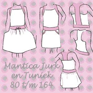 Mantica tuniek en jurk