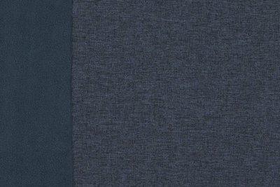Softshell blauw melange