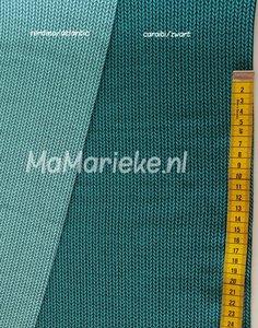 Knit knit jaquard tricot - caraibi/zwart