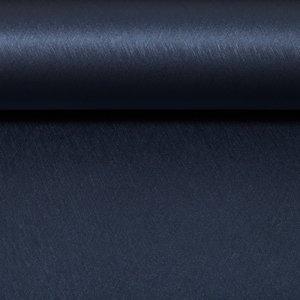 Metallic kunstleer mat - donker blauw