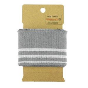 Cuff - donker grijs / licht grijs