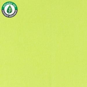 Tricot uni - lime- bio