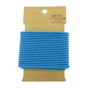 Cuff - mini streep aqua / kobalt