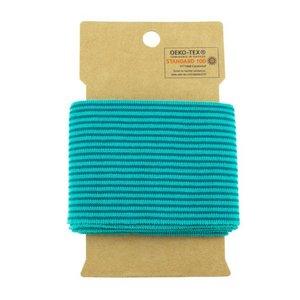 Cuff - mini streep donker mint / petrol