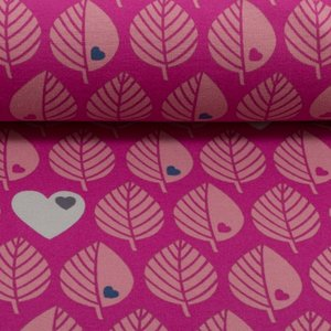 Softshell blatter - roze - coupon