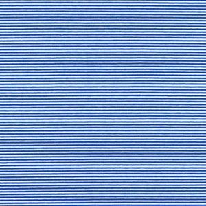 mini streep kobalt blauw wit