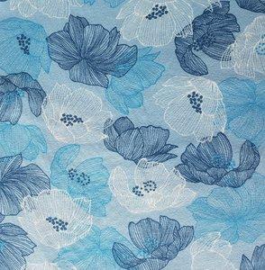 Avalana blauwe bloemen