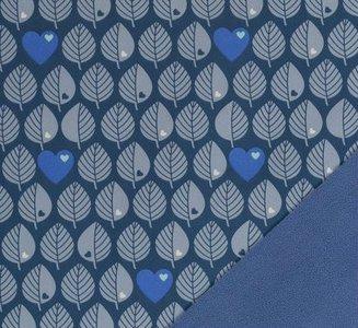 Softshell blatter - blauw - coupon