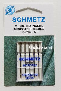 Schmetz microtex 90